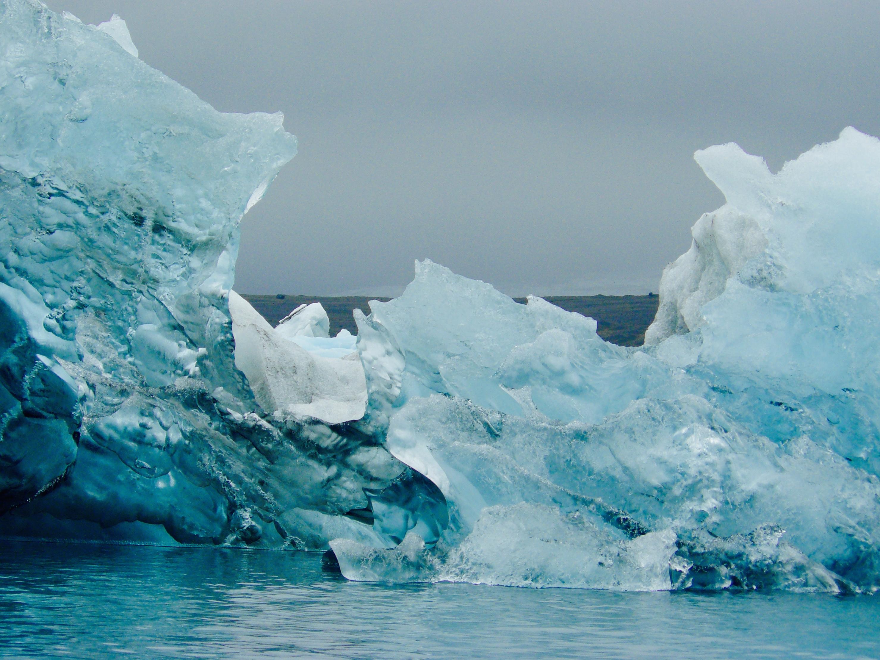 ice rocks at iceland