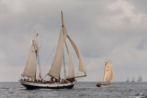 Tecla during the Tall Ships Races 2014