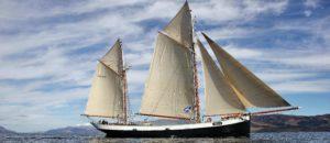 Set sail in Scotland on board the Tecla