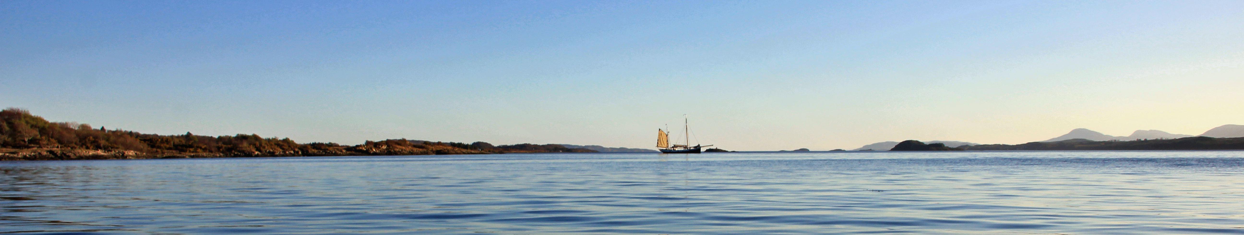 Sailing in Scotland
